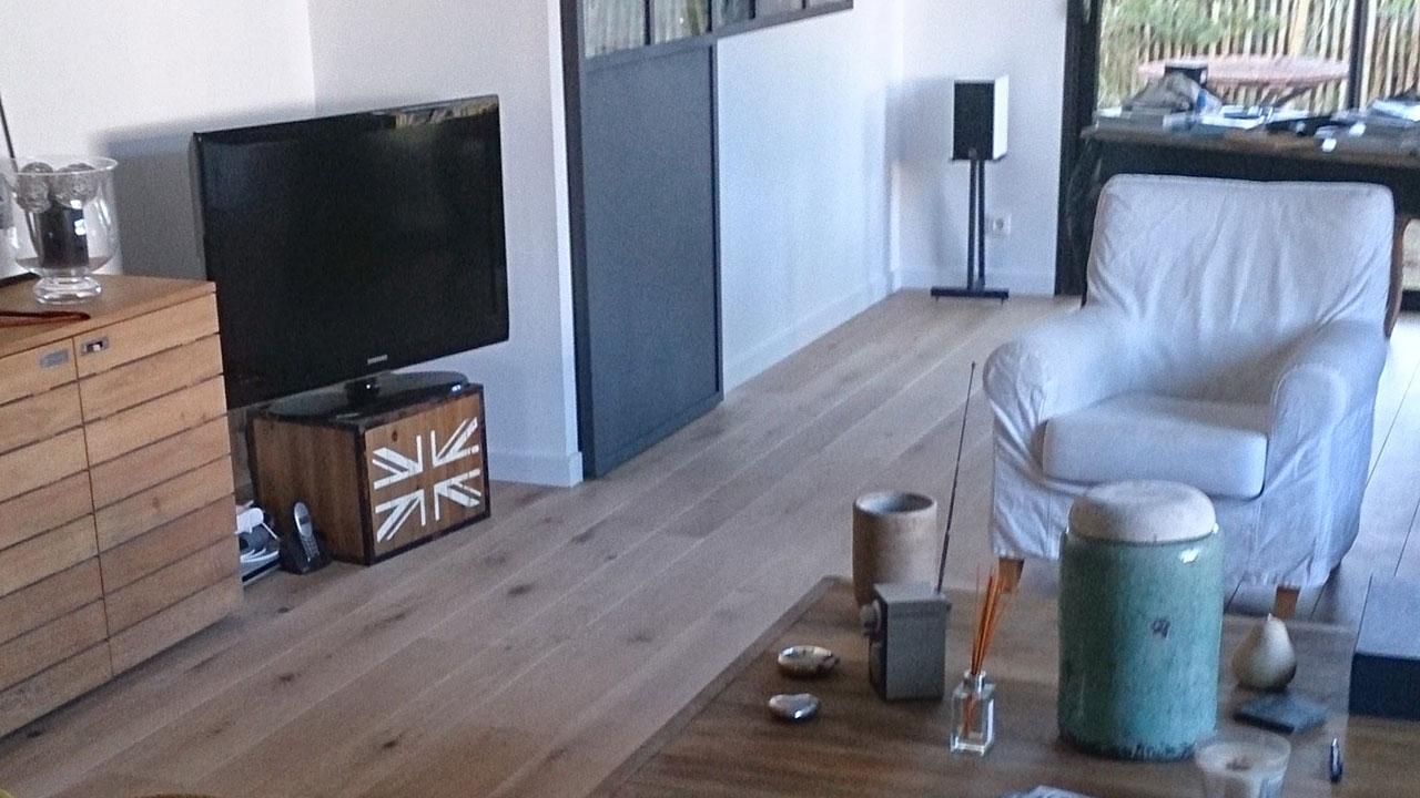 pose de parquet en ch ne suc sur erdre nantes d clic menuiserie. Black Bedroom Furniture Sets. Home Design Ideas