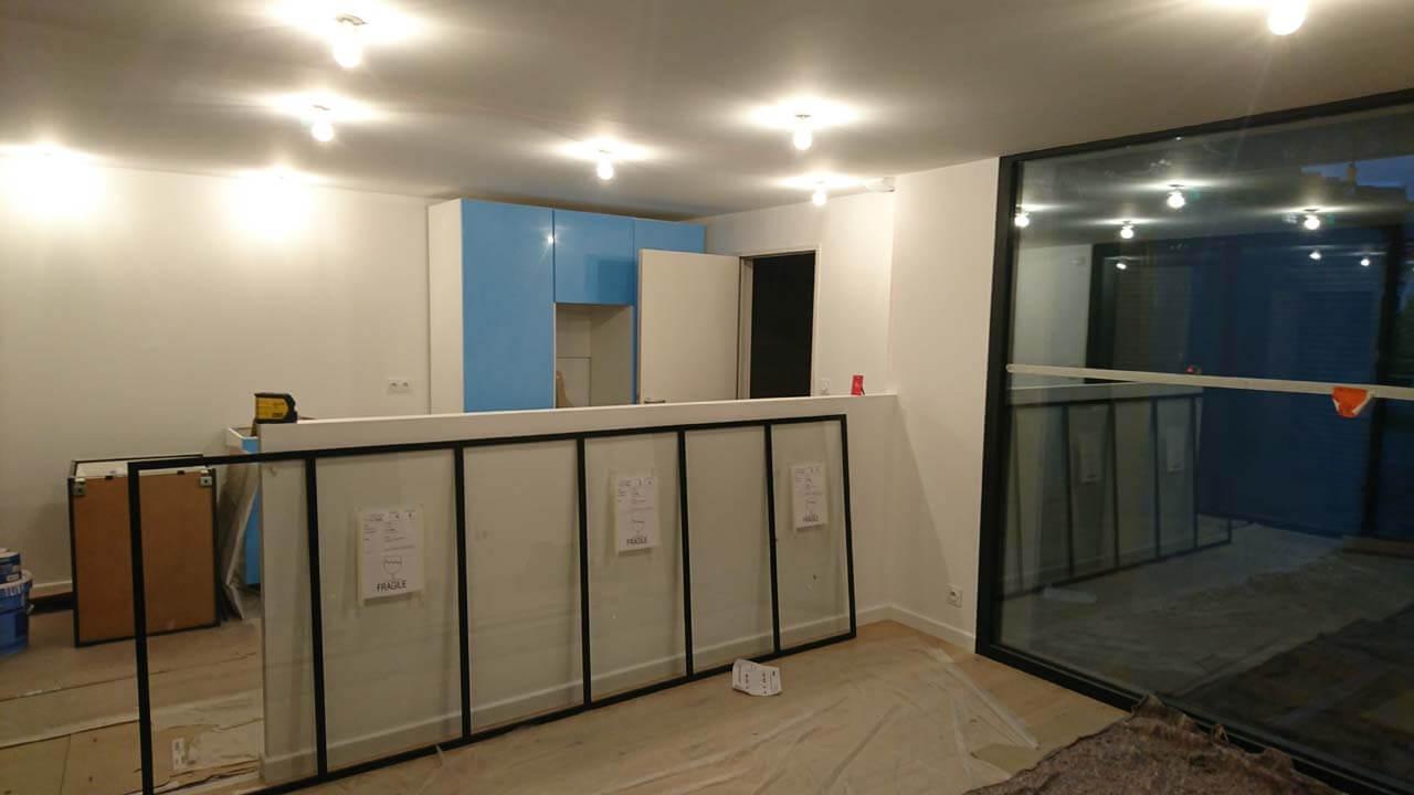 installation verri re int rieure d clic menuiserie. Black Bedroom Furniture Sets. Home Design Ideas