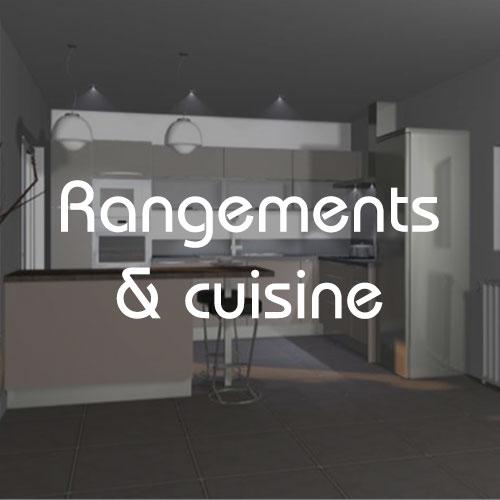 Création et pose de rangements et cuisines